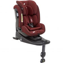 Joie Stages ISOFIX Group 0+/1/2 Car Seat-Cranberry (New)