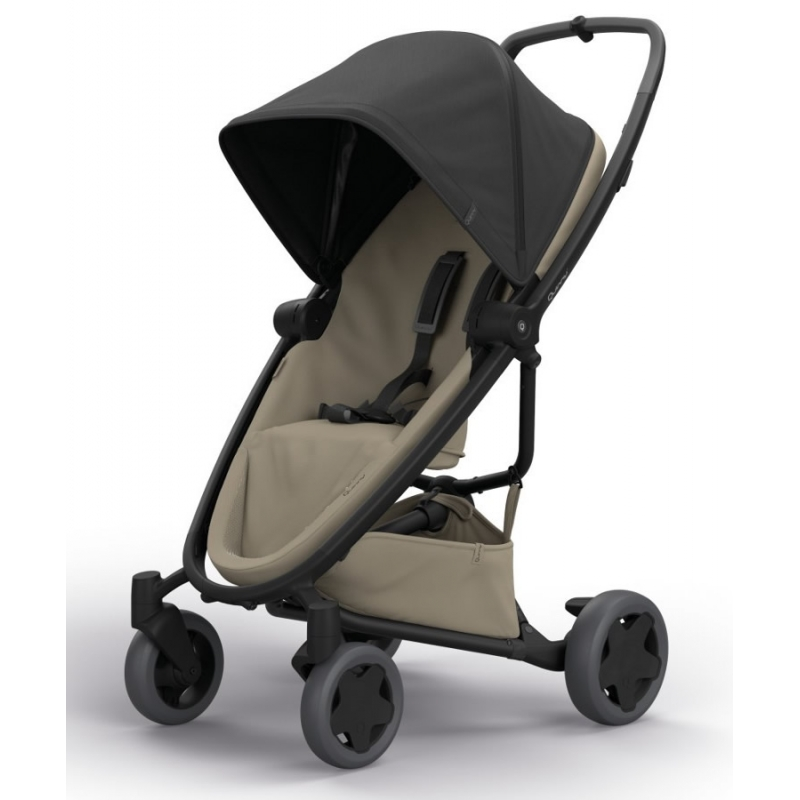 Quinny Zapp Flex Plus Stroller-Black on Sand