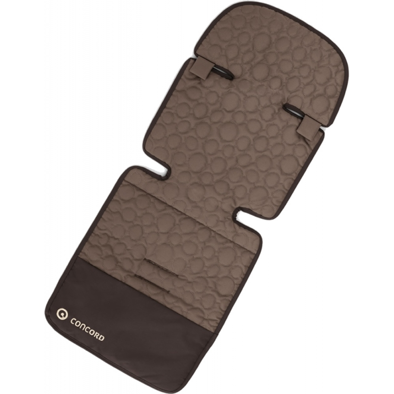 Concord Hug Driving Car Seat Sleeping Bag-Toffee Brown (New 2017)