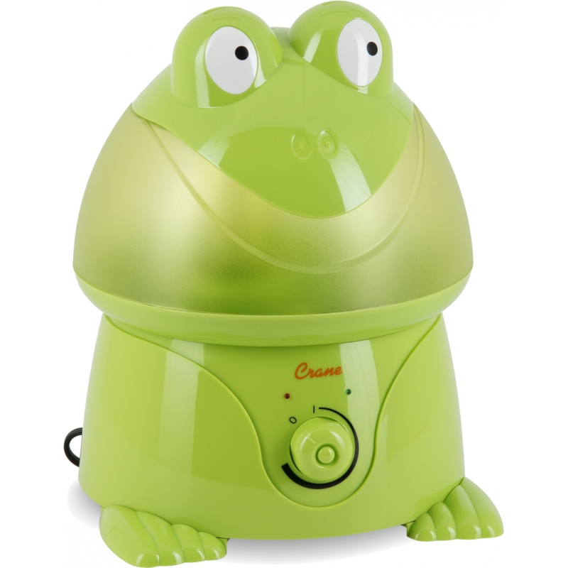 Crane Ultrasonic Cool Mist Humidifier-Frog