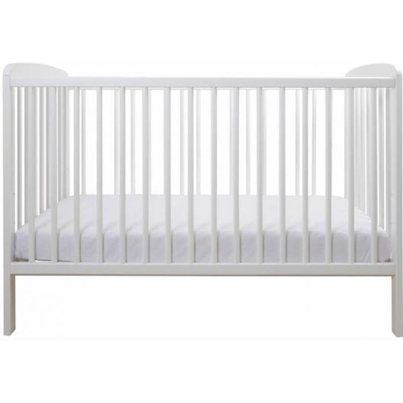 East Coast Aster Cot-White (New) + Free Mattress Worth £23!