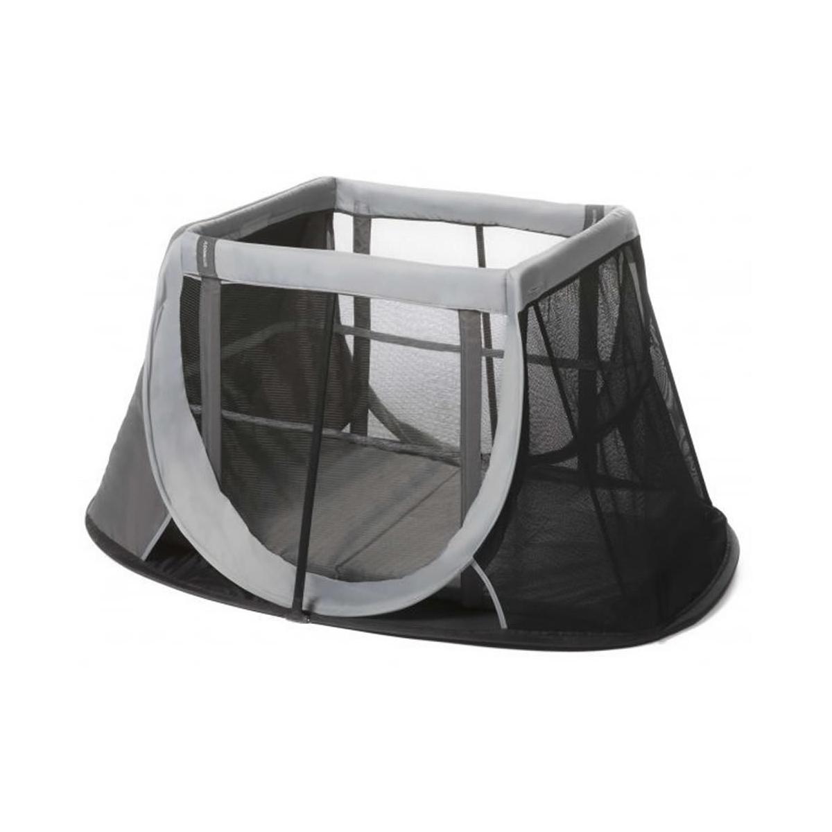 AeroMoov Instant Travel Cot-Grey Rock Includes Carry Bag & Mattress!