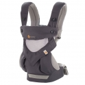 Ergobaby 360 Cool Air Mesh Carrier-Carbon Grey