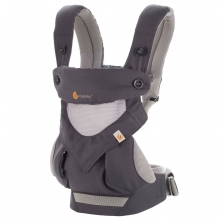 Ergobaby 360 Cool Air Mesh Carrier-Carbon Grey (2020)