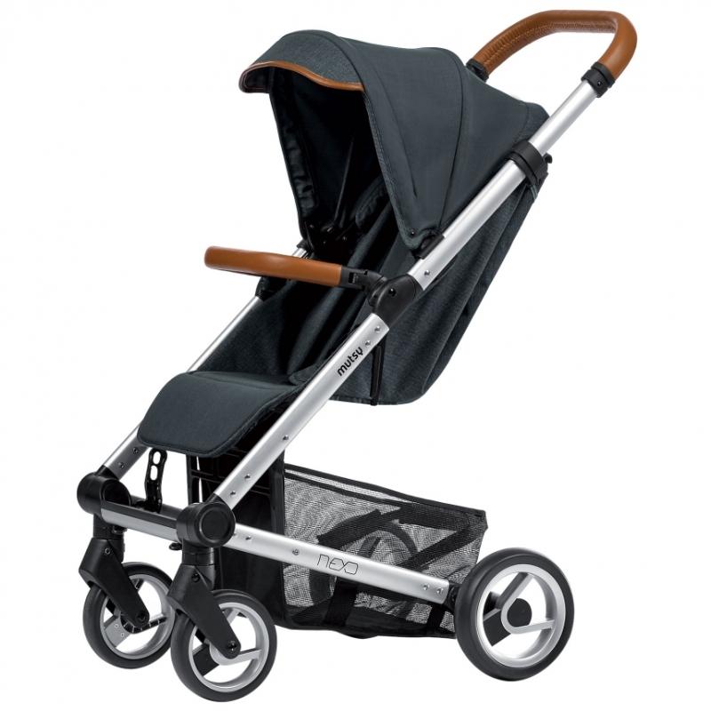 Mutsy Nexo Grey Melange Stroller (New 2017)