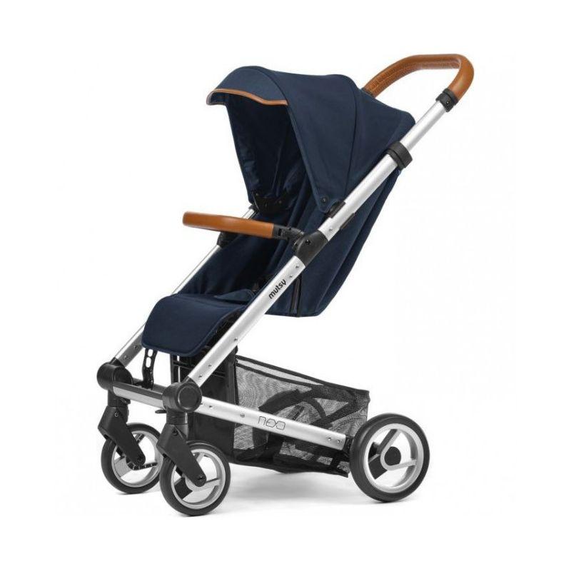 Mutsy Nexo Blue Melange Stroller