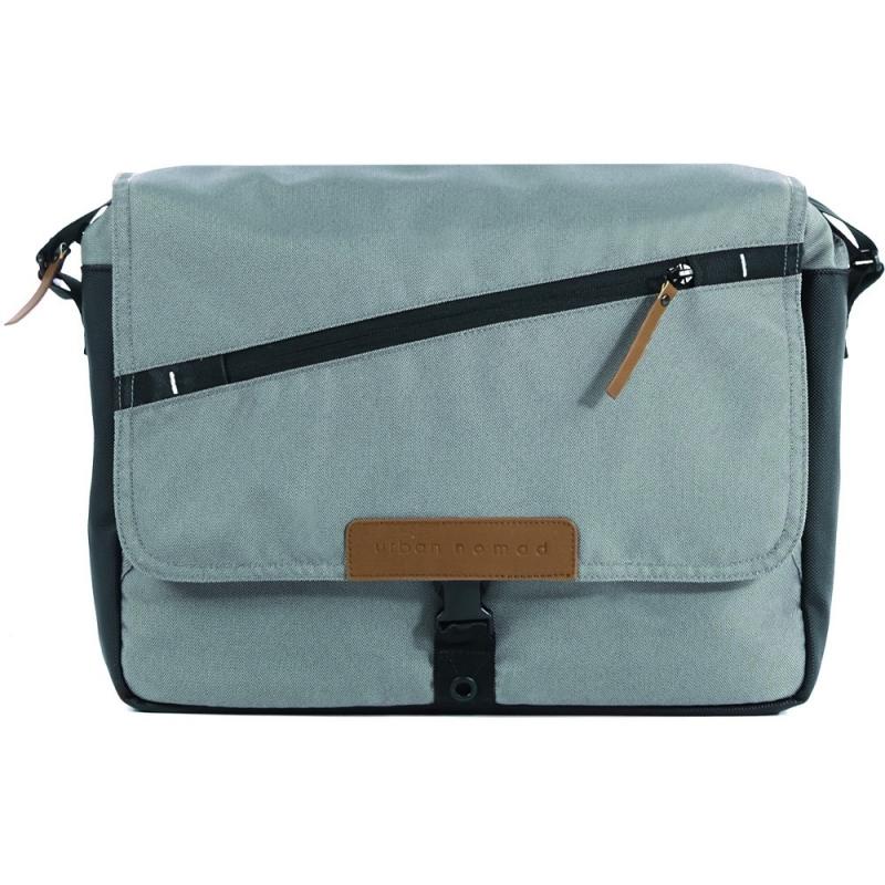 Mutsy Evo Urban Nomad Nursery Bag-Light Grey (New)