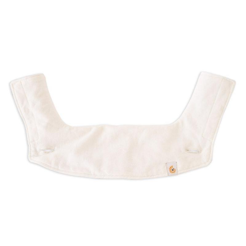 Ergobaby Organic 360 Carrier Teething Pad & Bib-Natural