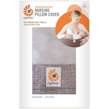 Ergobaby Nursing Pillow Cover-Grey