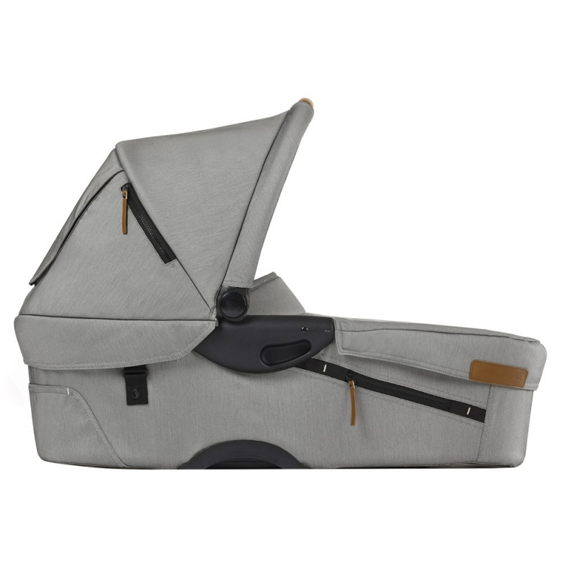 Mutsy Evo Urban Nomad Carrycot-Light Grey (New)
