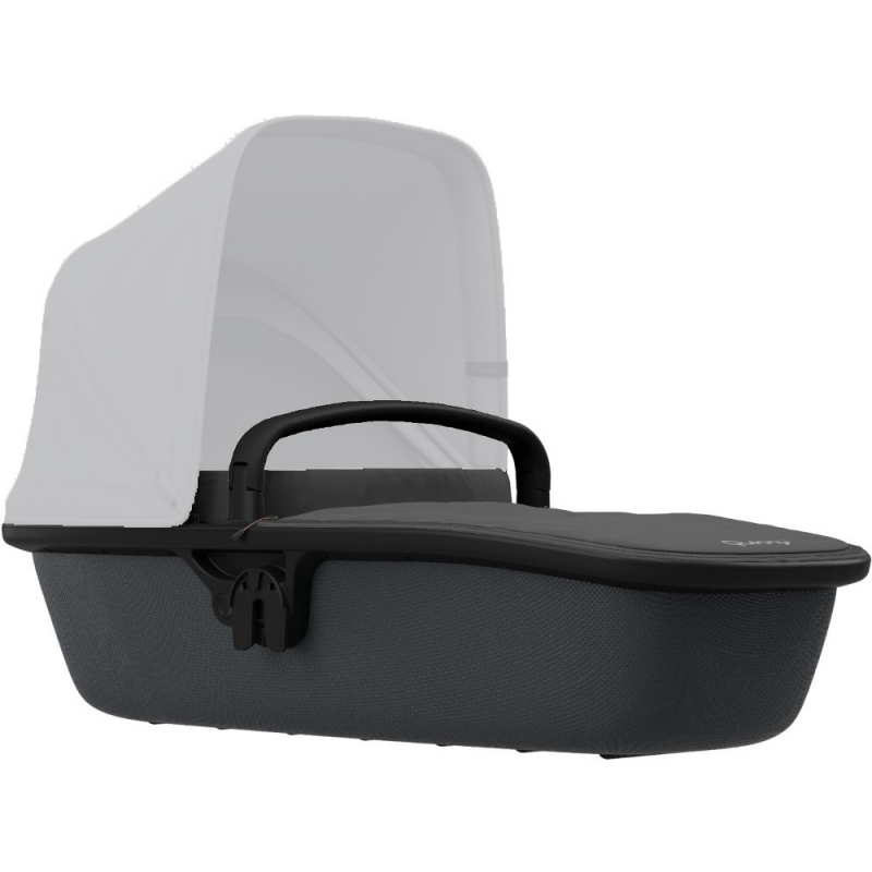 Quinny Zapp Lux Carrycot-Black On Graphite (New)