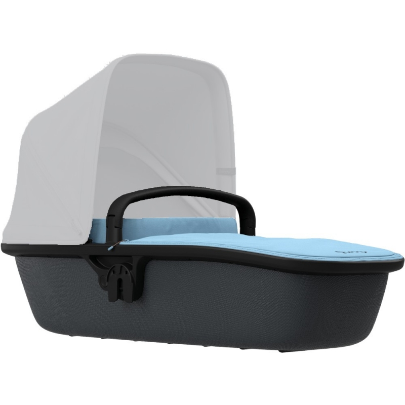Quinny Zapp Lux Carrycot-Sky on Graphite (New)