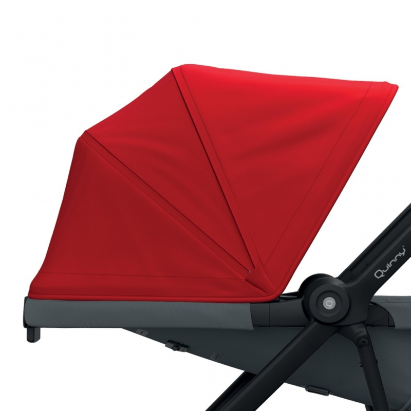 Quinny Zapp Flex/Flex Plus Sun Canopy-Red