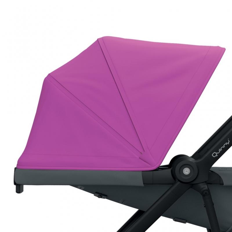 Quinny Zapp Flex/Flex Plus Sun Canopy-Pink
