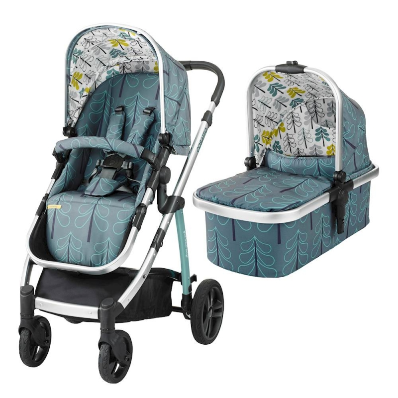 Cosatto Wow 3in1 Travel System with Port Car Seat-Fjord (New)