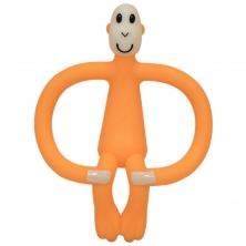 Matchstick Monkey Teething Toy-Orange