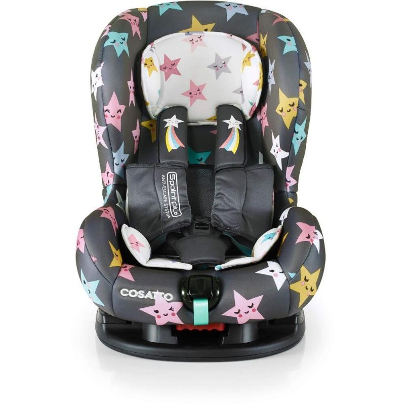 Cosatto Moova 2 (5 Point Plus) Group 1 Car Seat-Happy Hush Stars (New)