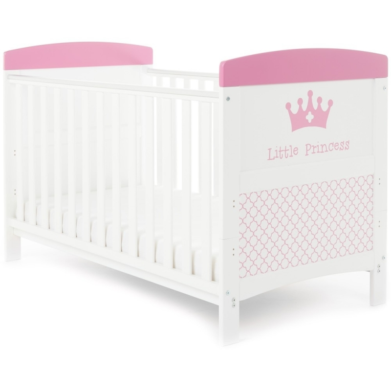 Obaby Grace Inspire Cotbed-Little Princess