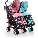Cosatto Supa Dupa Twin Stroller-Sis and Bro 5 (New)