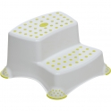 Safety 1st Double Step Stool-White/Lime (NEW 2019)