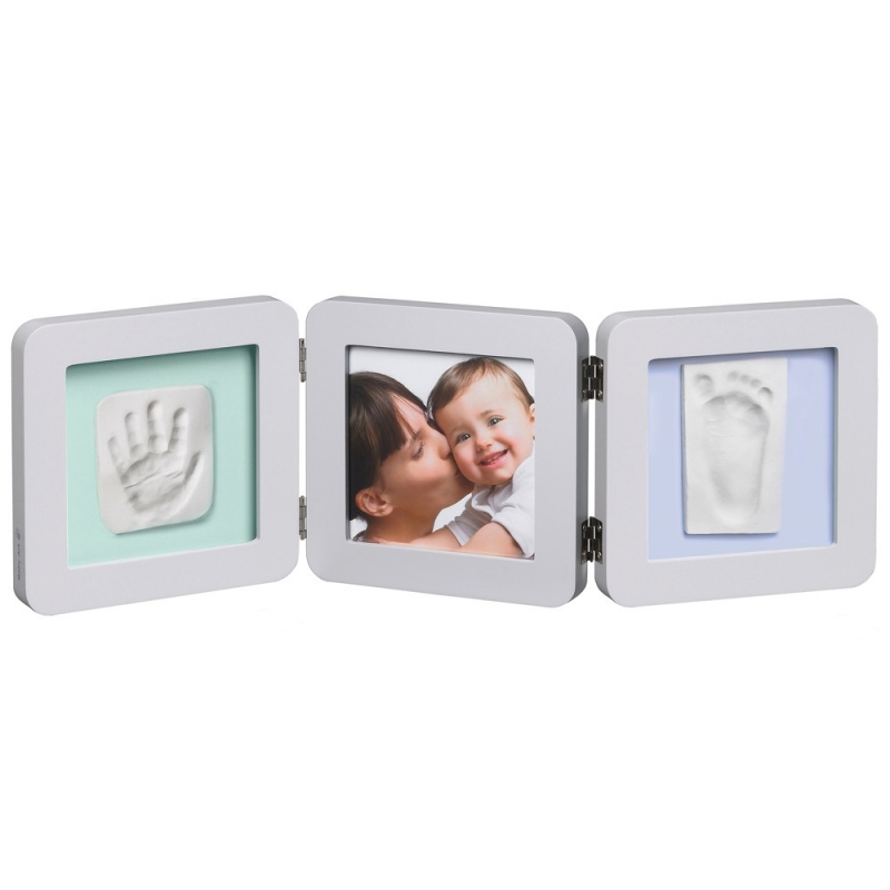 Baby Art Double Print Frame-Pastel