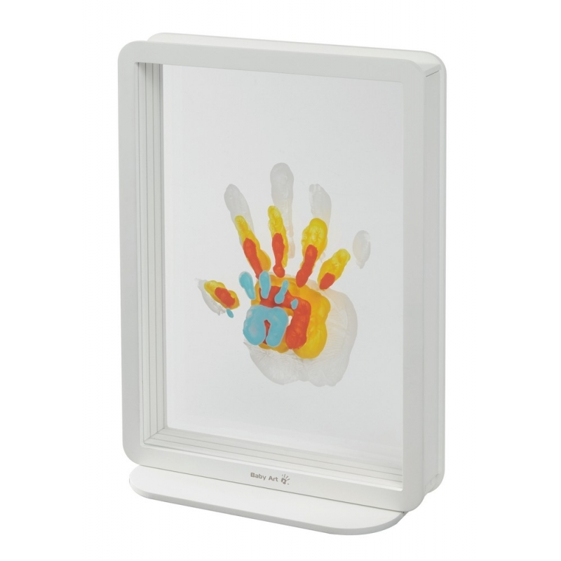 Baby Art Family Touch Handprints-White