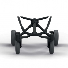 Quinny Zapp X Set 4 Medium Wheels-Graphite