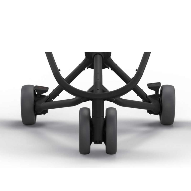 Quinny Zapp X Set 4 Large Wheels-Graphite (New)