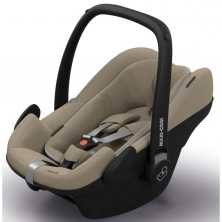 Maxi Cosi Pebble Plus 0+ Car Seat For Quinny-Sand (NEW)