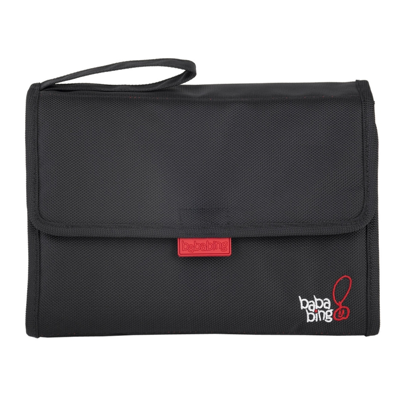 BabaBing FlipOut Changing Mat Pack-Black (New)
