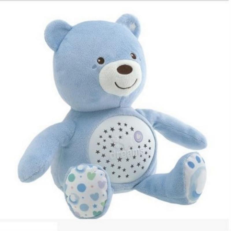 Chicco Baby Bear Light Blue Night Light