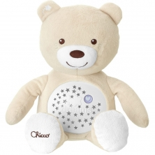 Chicco First Dreams Baby Bear Night Light-Neutral