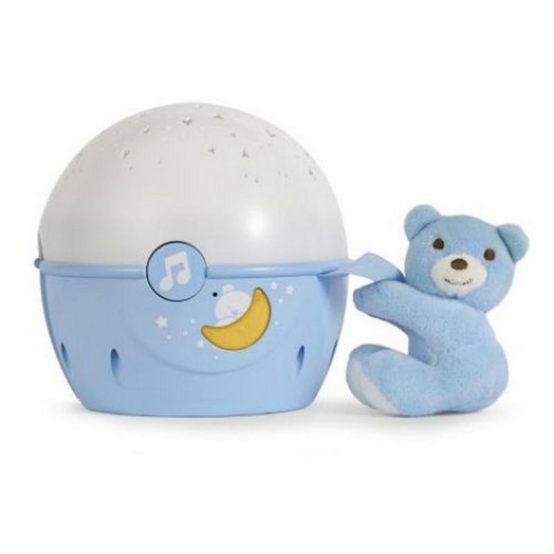 Chicco First Dreams Next 2 Stars Night Light-Blue