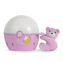 Chicco First Dreams Next 2 Stars Night Light-Pink