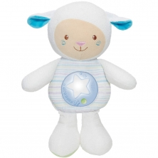 Chicco First Dreams Mom Lullaby Sheep Night Light-Blue