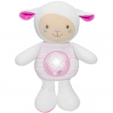 Chicco First Dreams Mom Lullaby Sheep Night Light-Pink