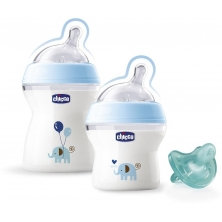 Chicco Natural Feeling Gift Set-Blue
