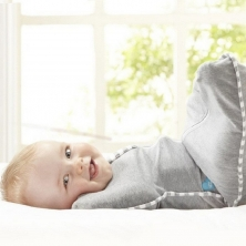 Love To Dream Swaddle Up-Grey (Small)