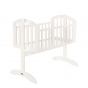 Obaby Sophie Swinging Crib-White