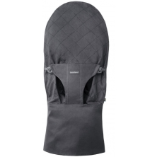 BabyBjorn Fabric Seat For Bouncer Bliss-Anthracite Cotton