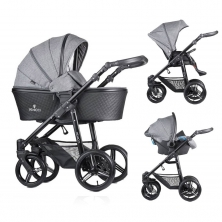 Venicci Shadow 3in1 Travel System-Denim Grey