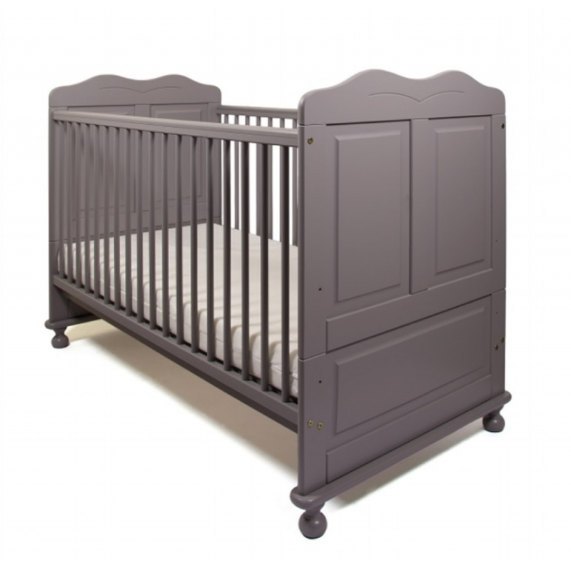 Little Babes Robie Cotbed-Grey