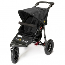 Out n About Nipper Single 360 V4 Stroller-Raven Black