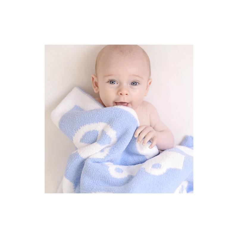 Bizzi Growin Cars Chenille Blanket