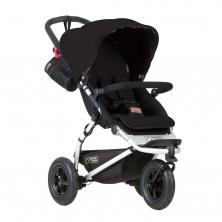 Mountain Buggy Swift V3.1 Stroller-Black + Free Fleece Blanket Worth £19.99!