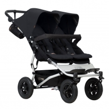 Mountain Buggy Duet V3 Twin Stroller-Black