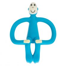 Matchstick Monkey Teething Toy-Blue