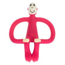Matchstick Monkey Teething Toy-Rubine Red