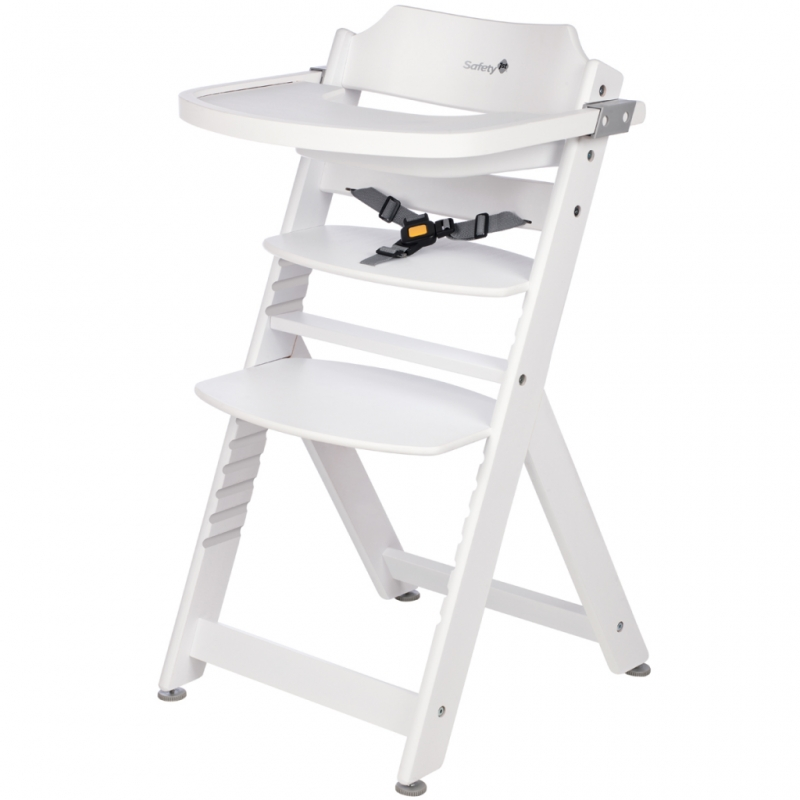 Safety 1st Timba Wooden Highchair-White (New)
