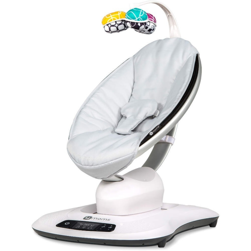 4moms MamaRoo 4.0 Rocker/Bouncer-Classic Grey